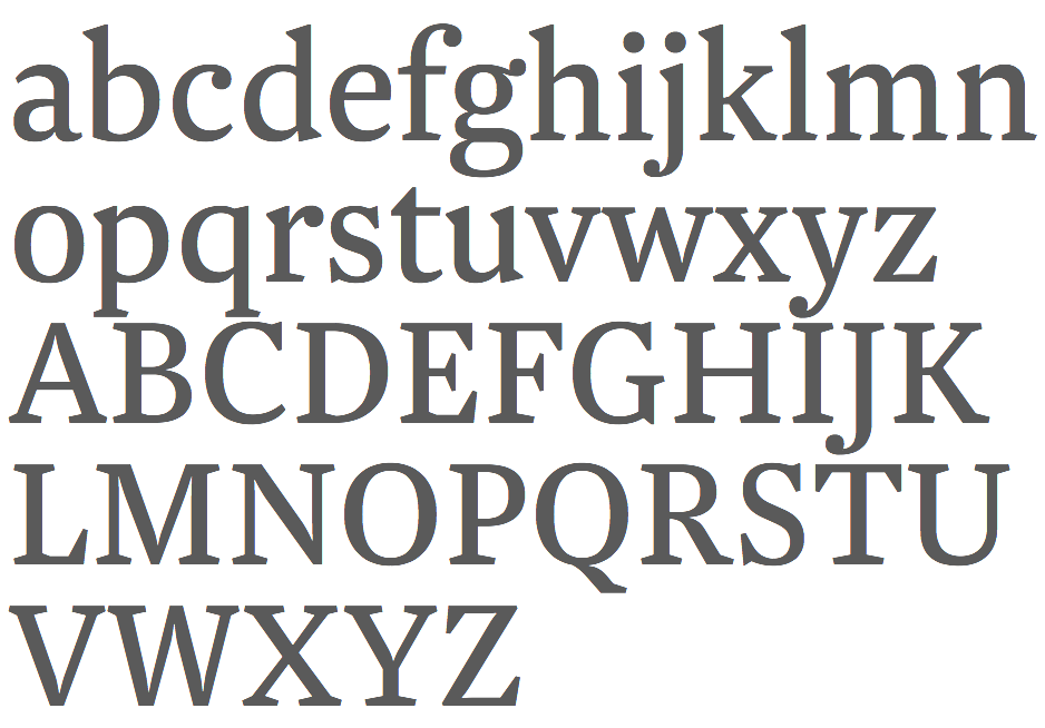 thesis font wikipedia