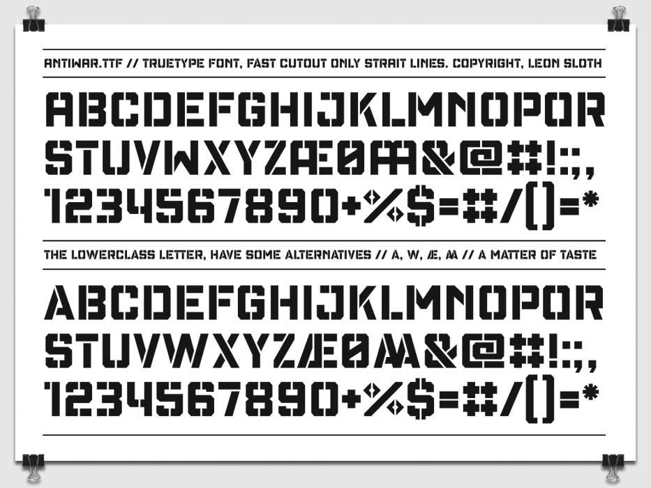 Peace fonts antiwar 2009 spiritdancerdesigns Image collections
