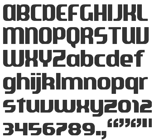 Playing card fonts