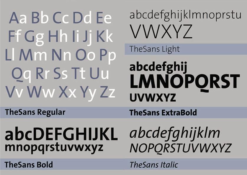 thesis serif extra light