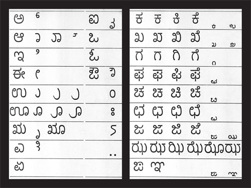Kannada fonts