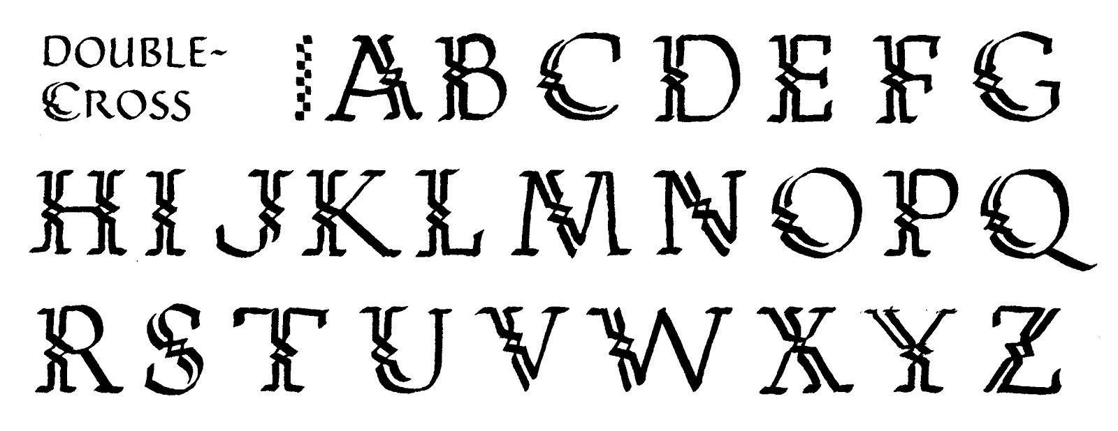 Celtic Calligraphy Alphabet | www.imgkid.com - The Image