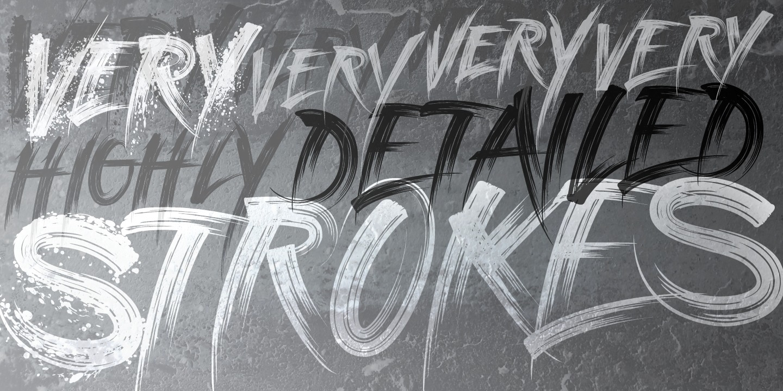 graffiti fonts  or  highground industries  or  highground