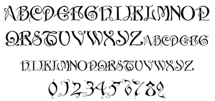 Calligraphy fonts free download microsoft word