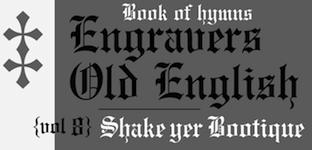 Monotype blackletter typefaces
