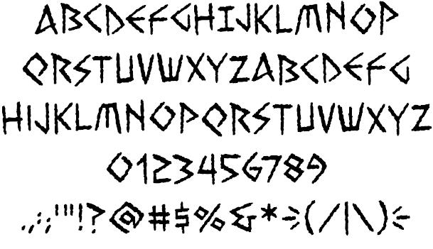 Greek Simulation Fonts