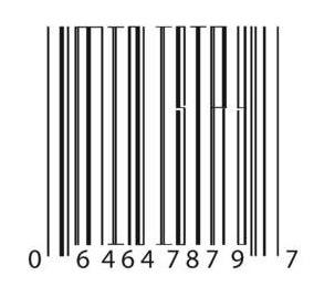 scannable bar codes