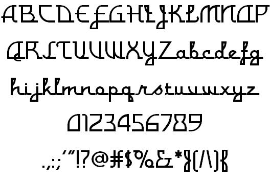 the norwegian font scene