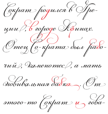 Greek Simulation Fonts