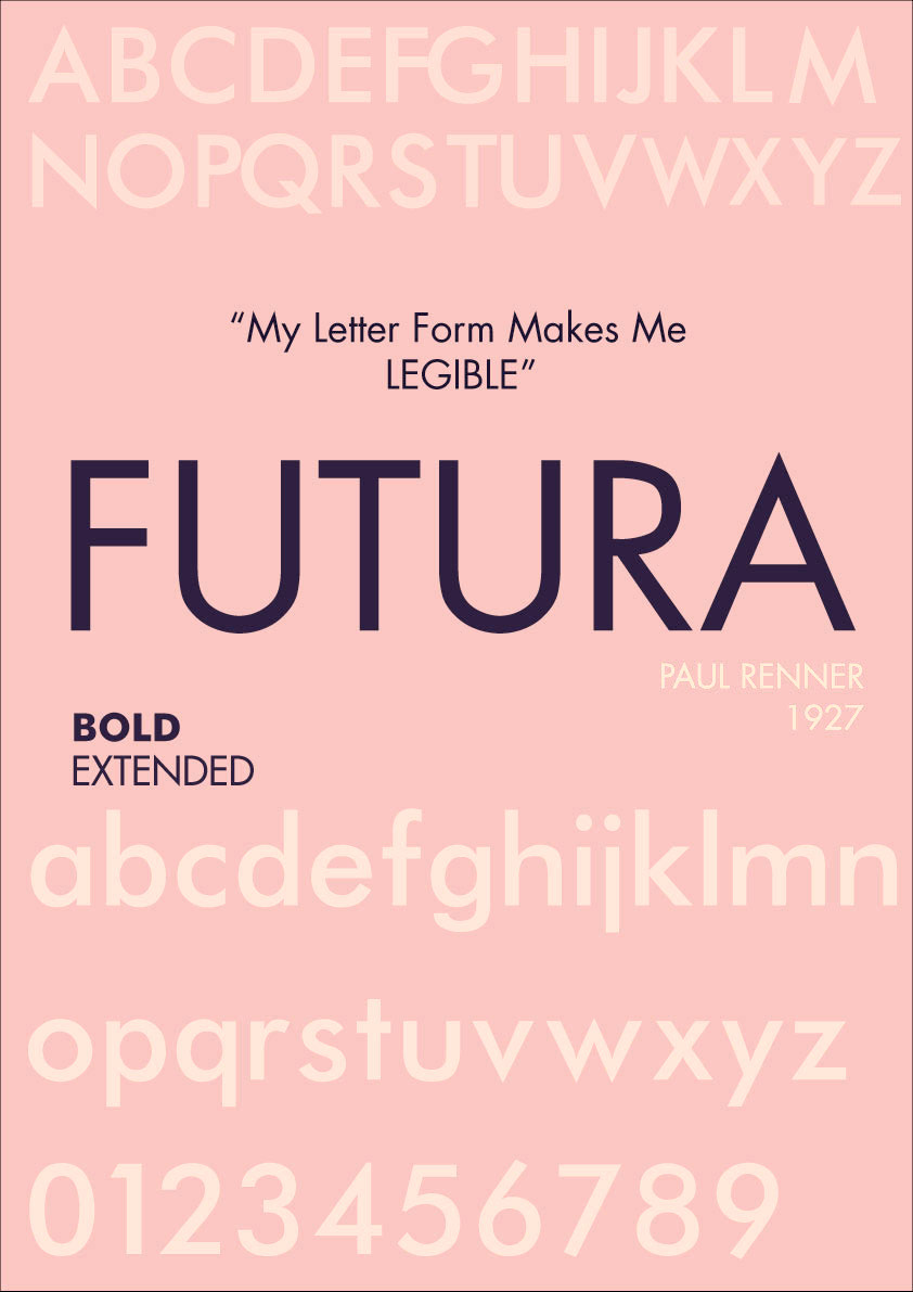 Futura: Comments at Typomancy