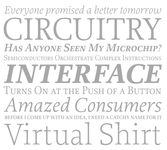 TYPE DESIGN INFORMATION PAGE last updated on Thu Jan 11 15
