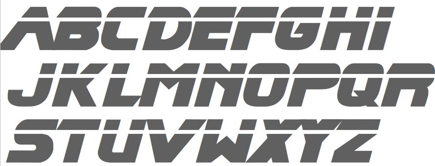 Game Font Database - photo#30