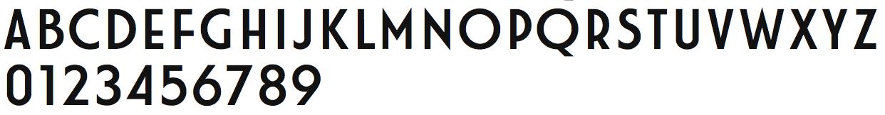 шрифт fiat