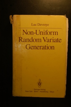 Non-Uniform Random Variate Generation
