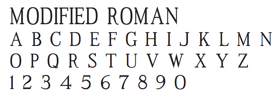 Times New Roman MT Std Condensed - Condensed