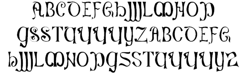 Lord Kyl's Medieval and Fantasy Fonts