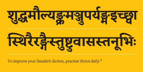 Gujarati fonts