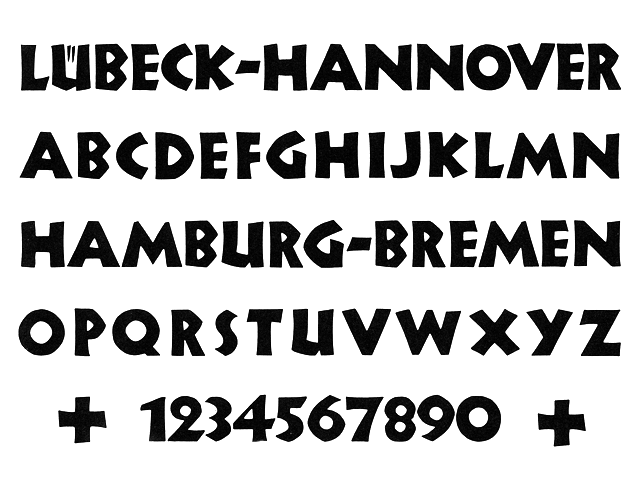 neuland font