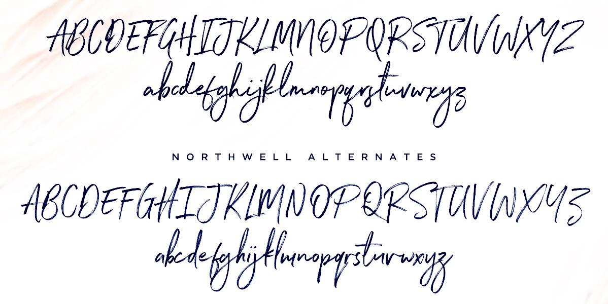 northwell font Set Sail Studios