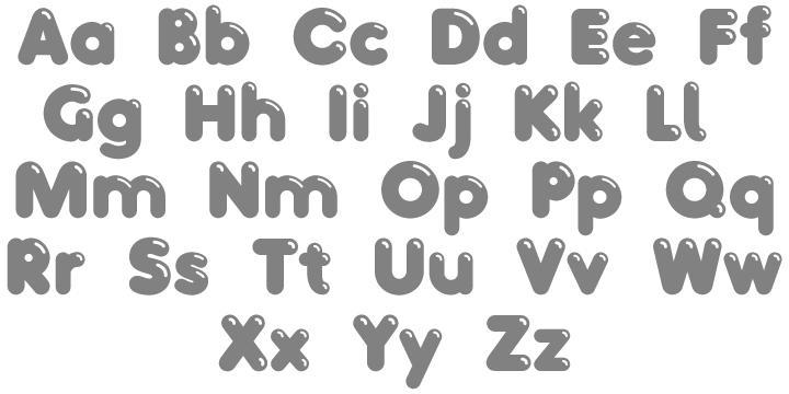 T26 Bacchus MAC Commercial Font