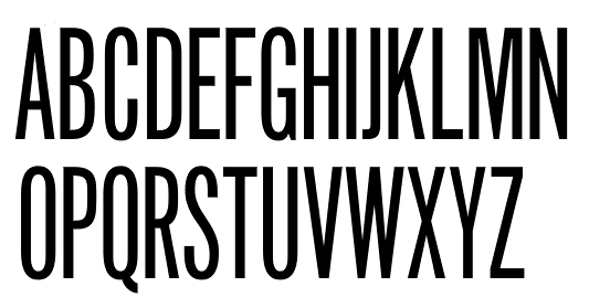 Twentieth Century Font