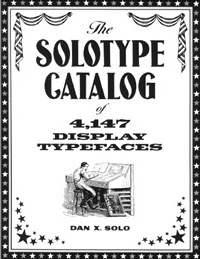 Catalog Of 4147 Display Typefaces Dover Pictorial Archives 1993 100 Decorative Condensed Alphabets