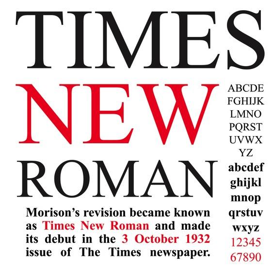 Times New Roman alternatives