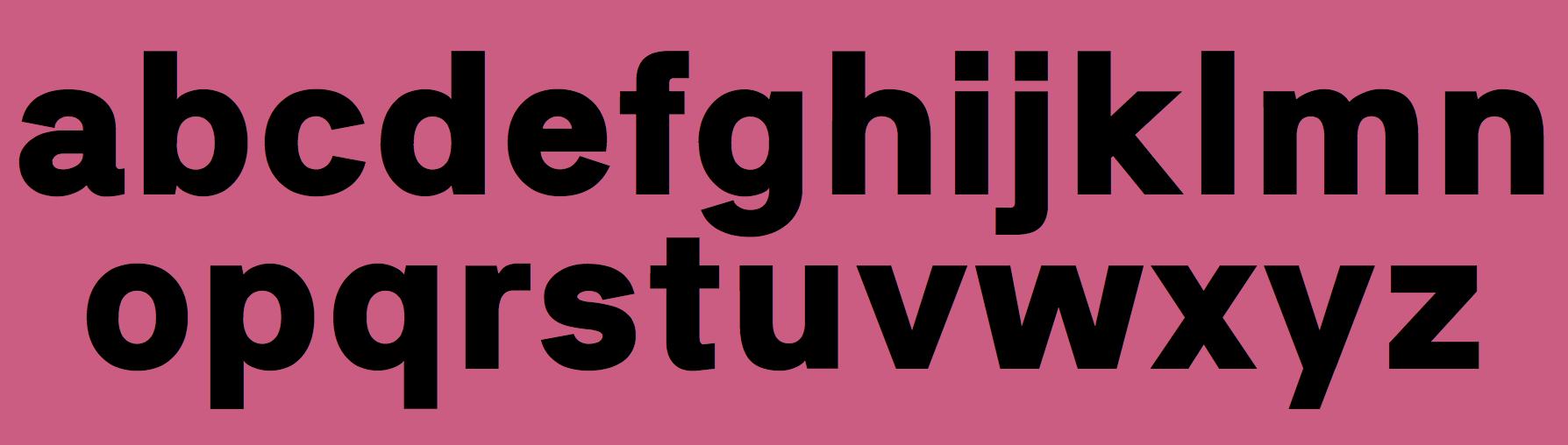 Neubau Berlin (or: NB Typography, or: Neubau Laden)