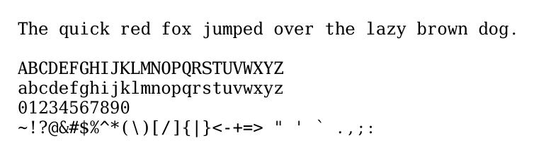 Fonts for mathematics