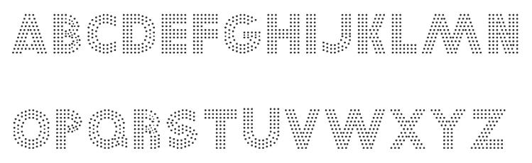 Mechanical Apricot Dot Matrix Peach Koverkav Tall Connected Script Zastava Art Deco Syncopation Avant Garde Centrivid Time