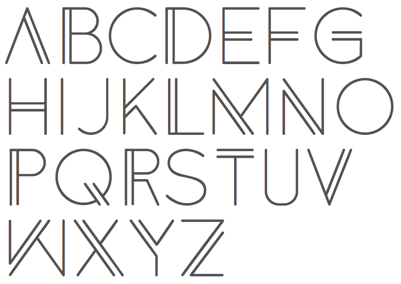 Group of Anders Free Font