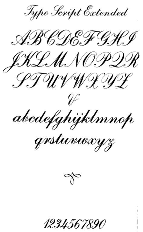 Fabulous ATF: Typo Script AR01