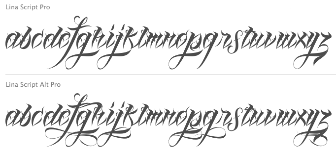 Free tattoo designs to print out tattoo script fonts names for Cursive tattoo fonts