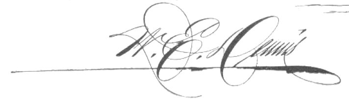 nice signatures with the letter a