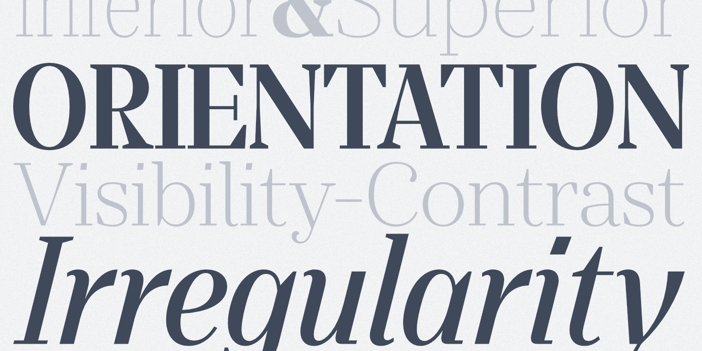 Download Laura Guardalabene's Favorite Five Typefaces