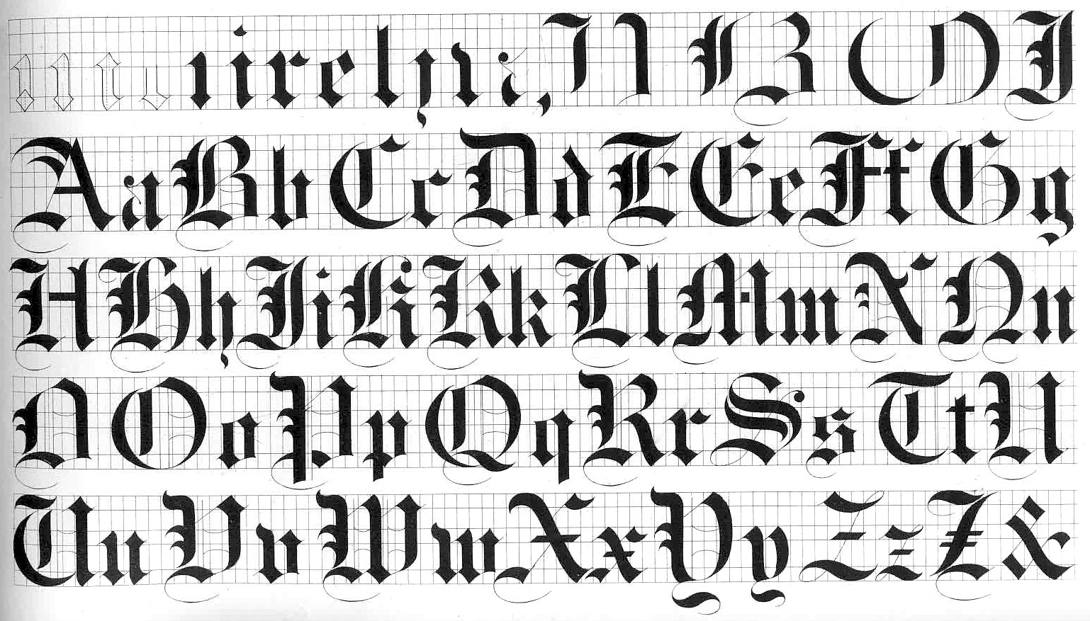 Old English Fonts 89