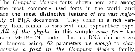 Type 3 Font Software