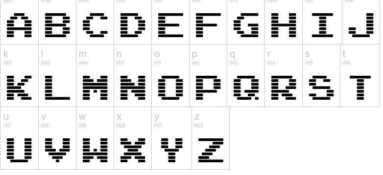 Barcode fonts