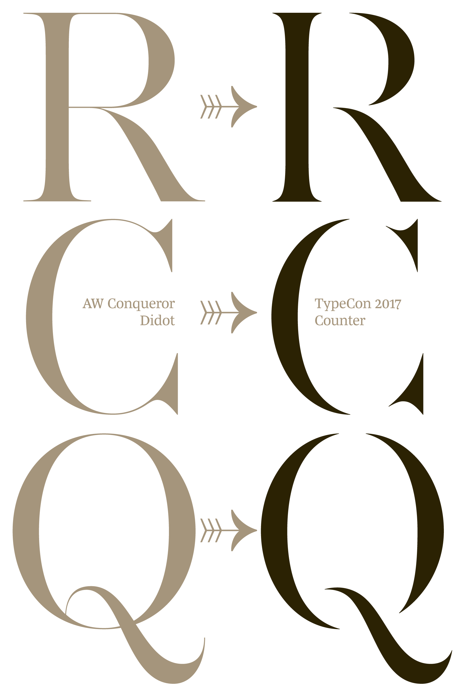 Five free new typefaces from conqueror | desktop.