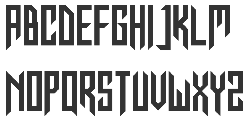 fontstructor who created the constructivist typeface in for the kill badass