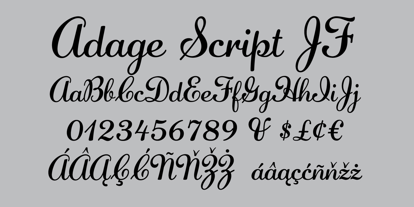 Typefaces in the Jukebox Collection