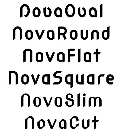 Family Font Name File Name Wmk69 Nova Font